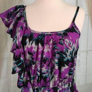 Envy Me Dresses - Envy Me One Shoulder Purple Dress
